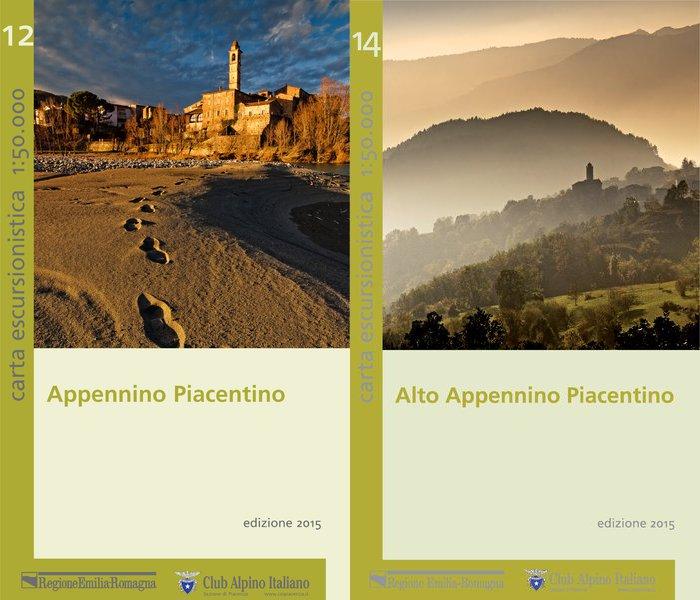 Copertine Cartine Appennino Piacentino 2015